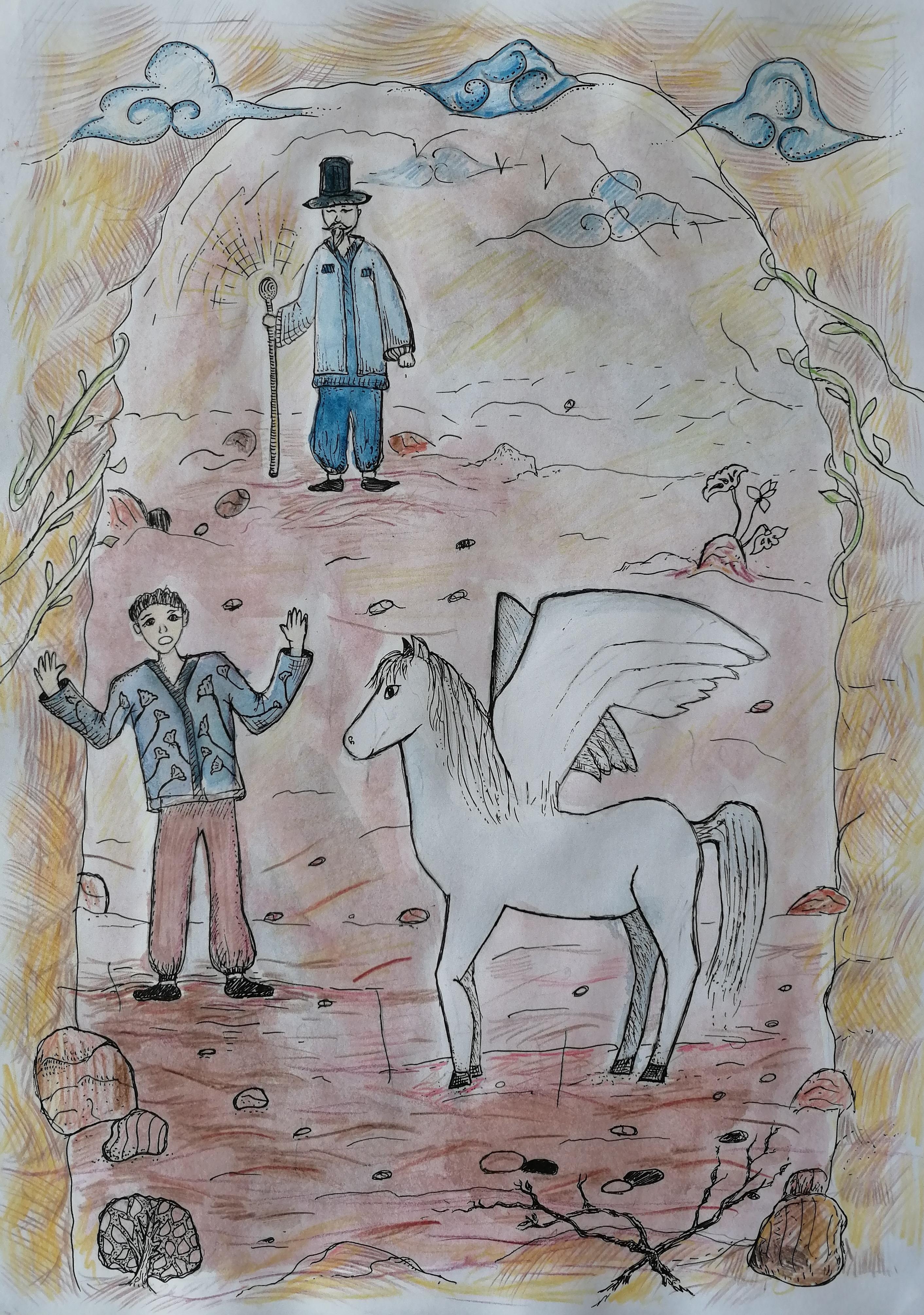 №532_Крылатый конь