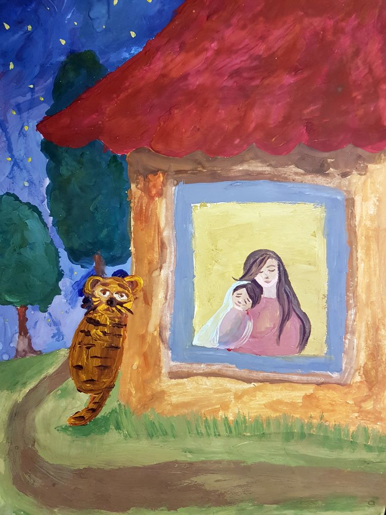 №395_Как тигр хурмы испугался