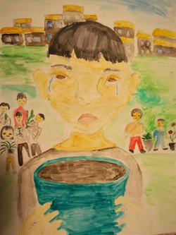 №31_Мальчик с пустым цветочным горшком