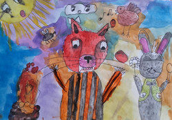 №411_Как заяц тигра обманул