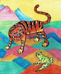 №332_Как лягушка тигра обманула