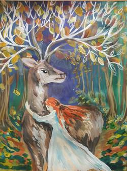№380_Как девушка оленя спасла