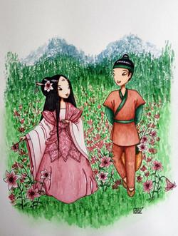 №191_Юноша и лилия