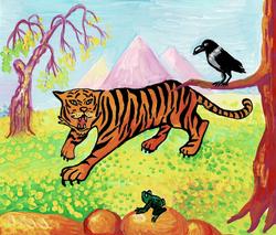 №340_Как лягушка тигра обманула
