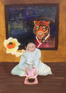 №152_Как тигр хурмы испугался