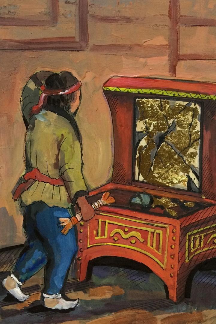 №180_Разбитое зеркало
