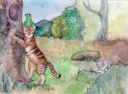 №304_Как лягушка тигра обманула