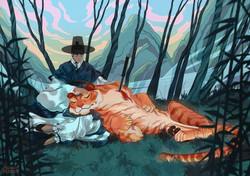 №291_Прекрасная тигрица