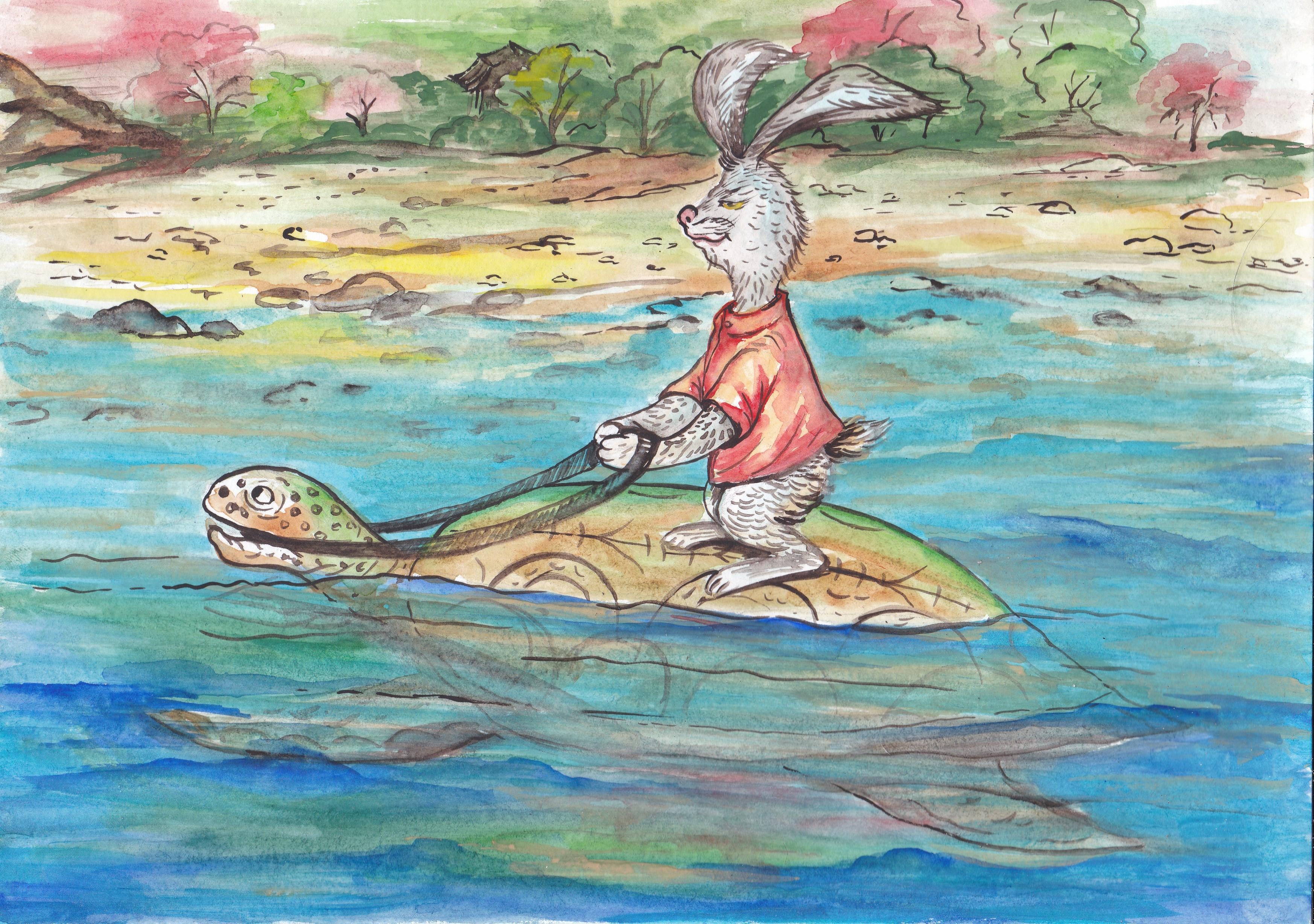 №37_Заяц и Черепаха