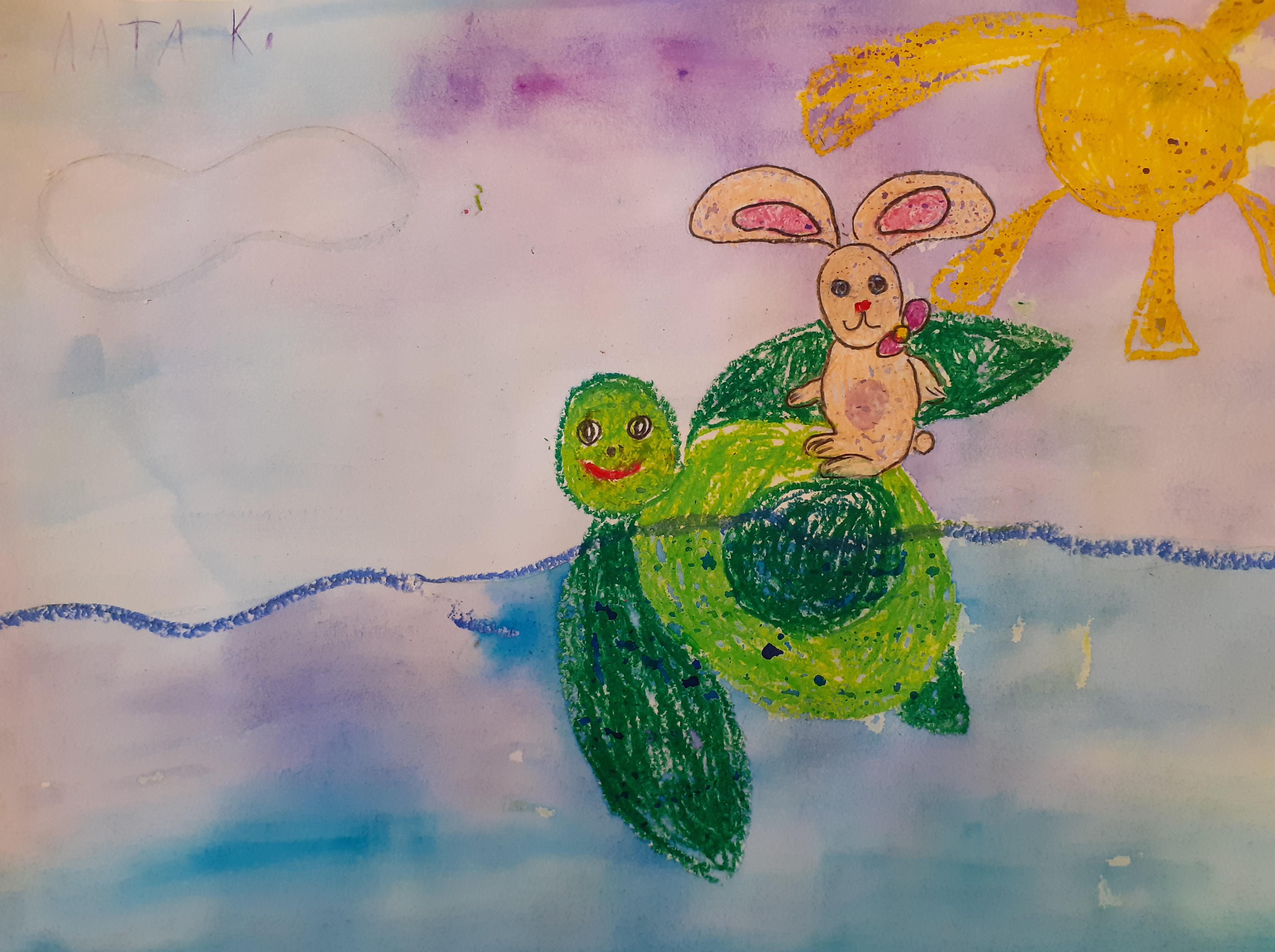 №491_Находчивый заяц