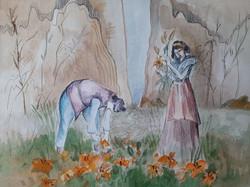 №236_Юноша и лилия