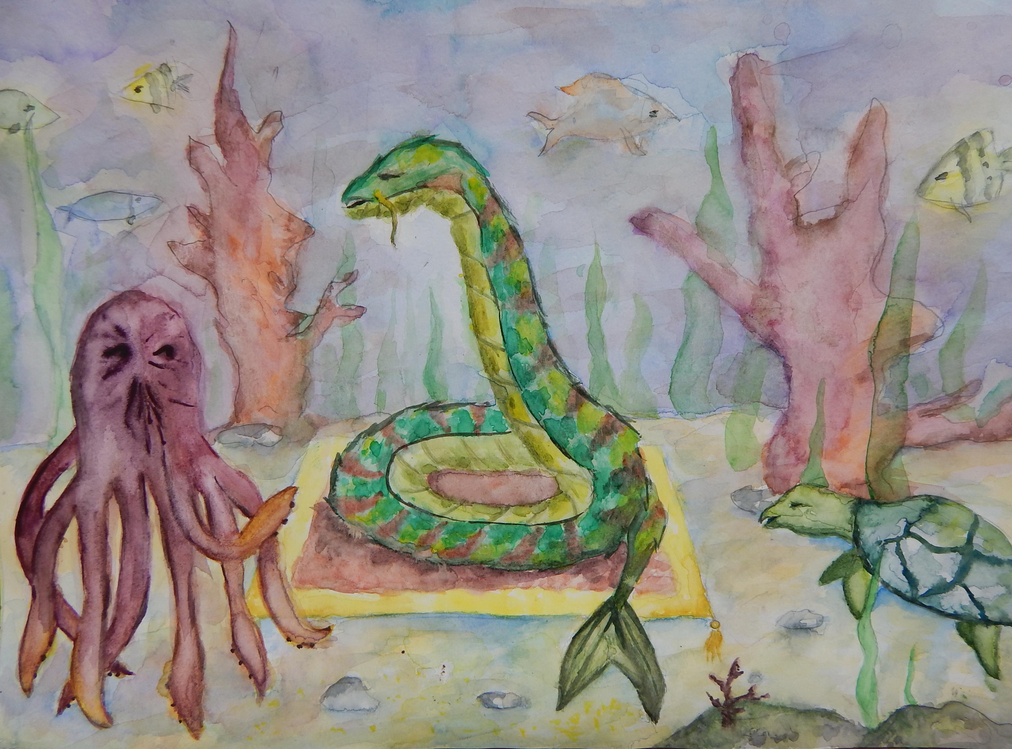 №474_Заяц и черепаха