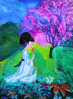 №120_Юноша и лилия