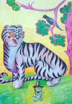 №468_Как лягушка тигра обманула