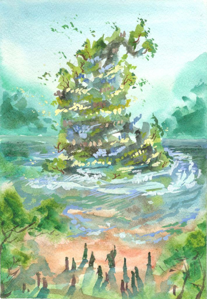 №284_Шелковый остров
