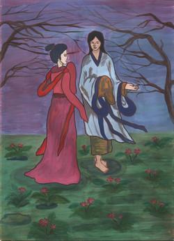 №228_Юноша и лилия