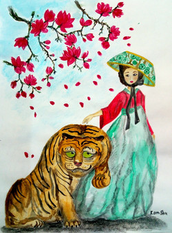 №34_Прекрасная тигрица