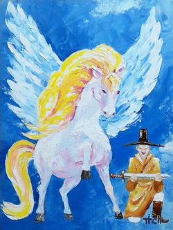 №556_Крылатый конь
