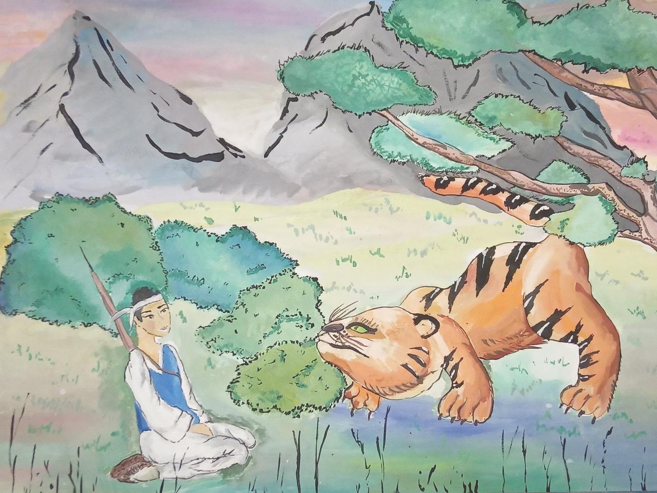 №269_Как лягушка тигра обманула