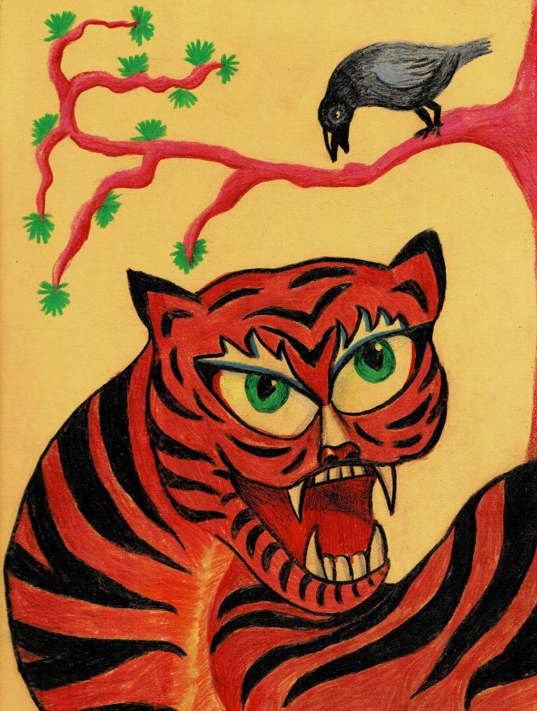 №333_Как лягушка тигра обманула