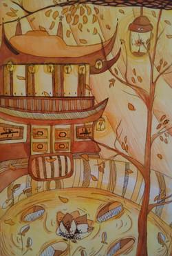 №82_Храм на горе Пэкчжоксан