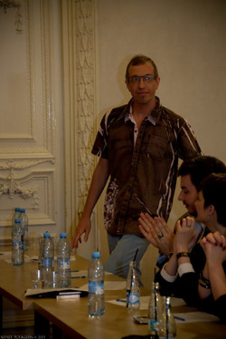 """Сергей Соседов - член жюри """"Золотого голоса"""", 2013 г."""