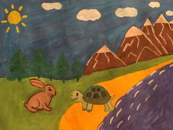 №287_Заяц и черепаха