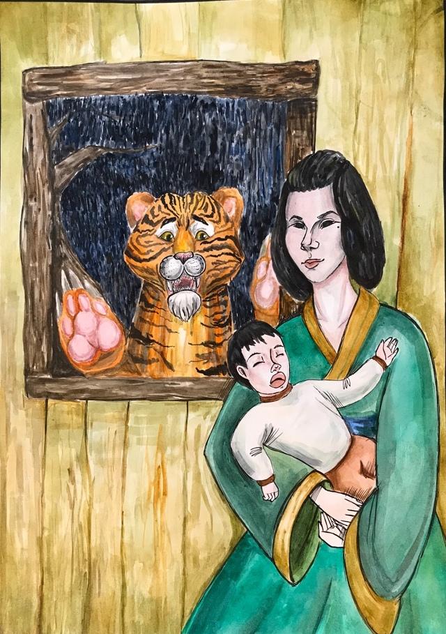 №135_Как тигр хурмы испугался