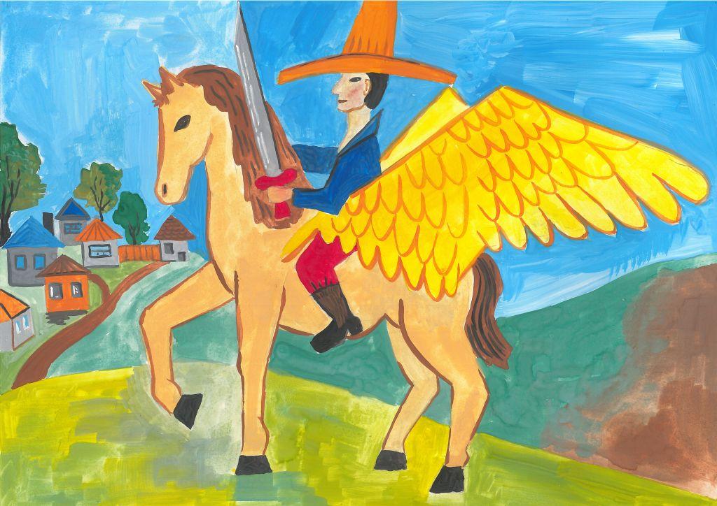 №440_Крылатый конь