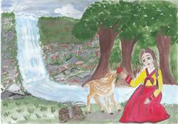 №248_Как девушка оленя спасла