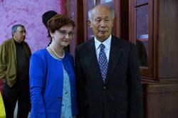 С корейским поэтом О Сеёном