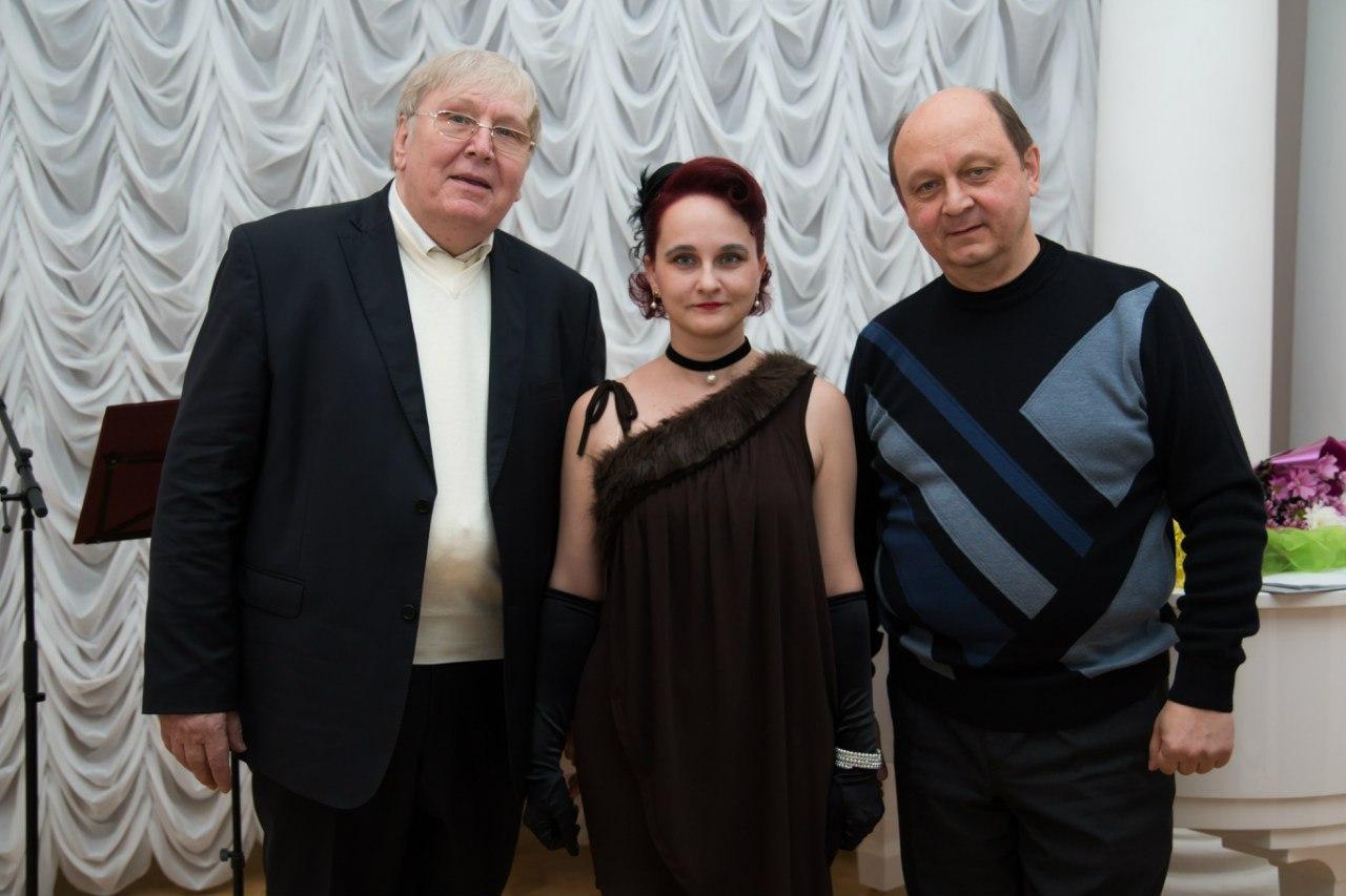 На творческом вечере журналиста Константина Денисова