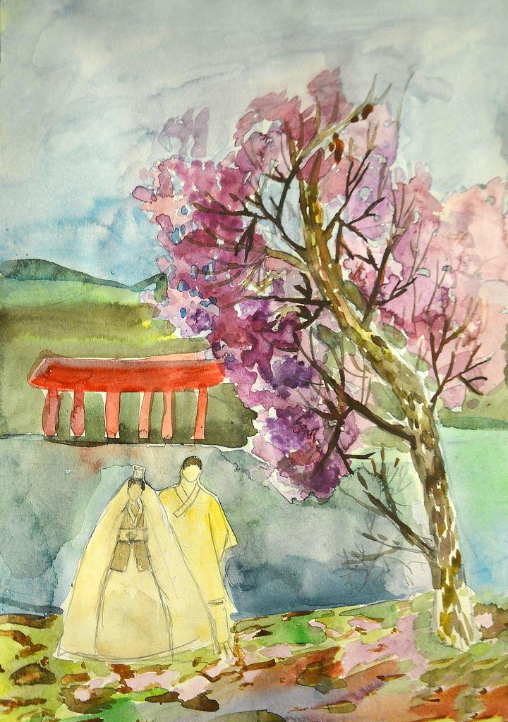 №523_Как белый цвет цветом жизни в Корее