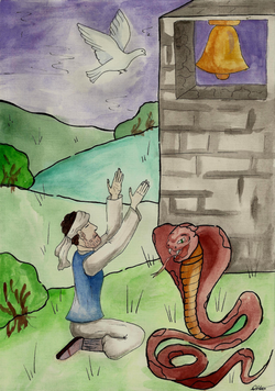 №193_Бедняк и голубка