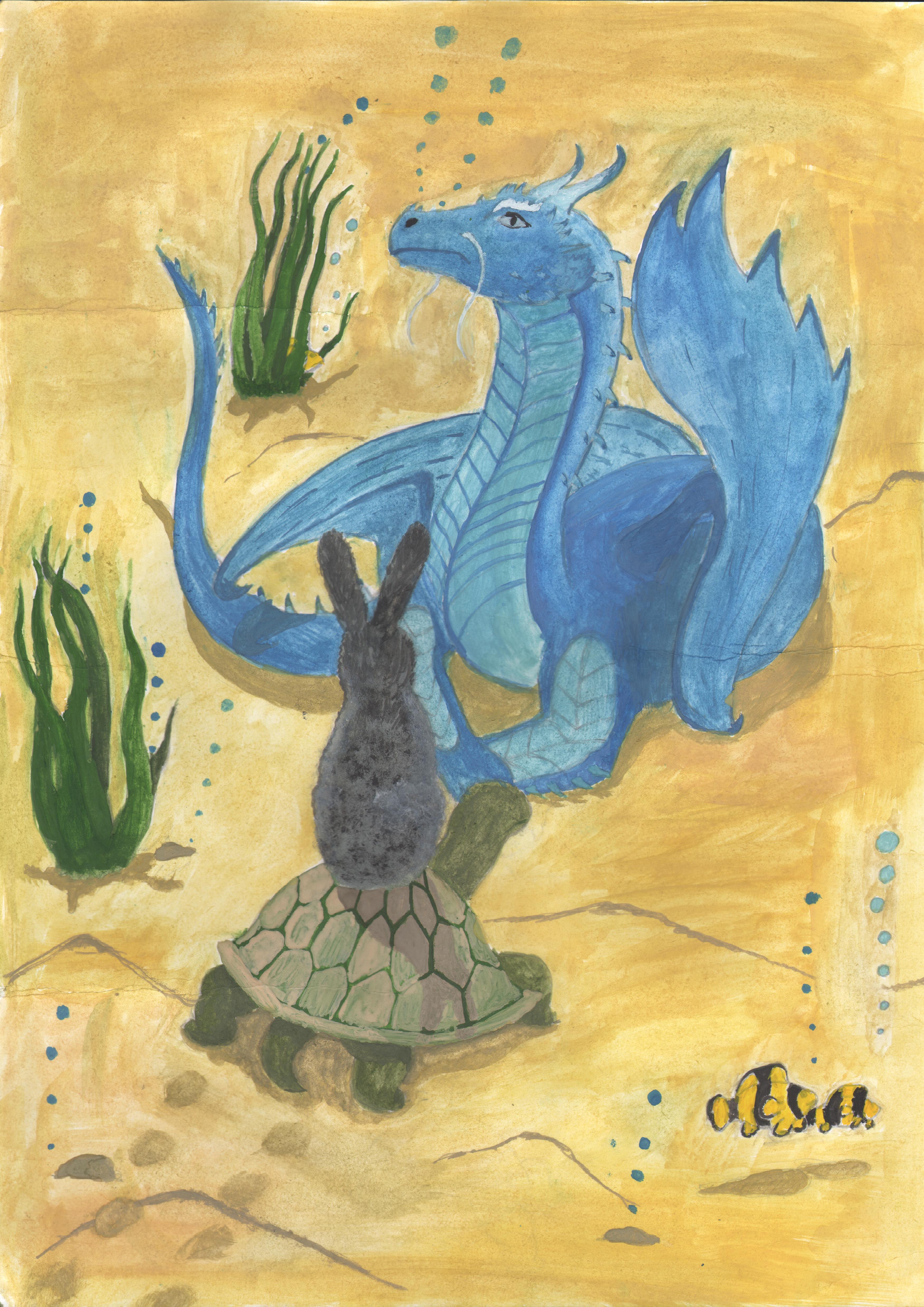 №296_Заяц и Черепаха