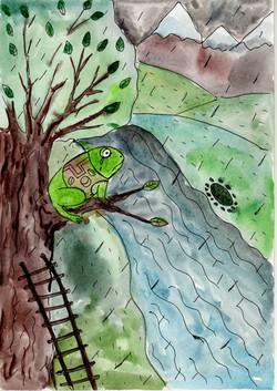 №374_Почему лягушки плачут, когда идет д