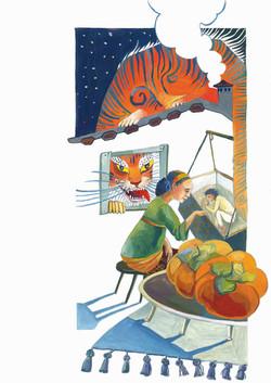 №369_Как тигр хурмы испугался