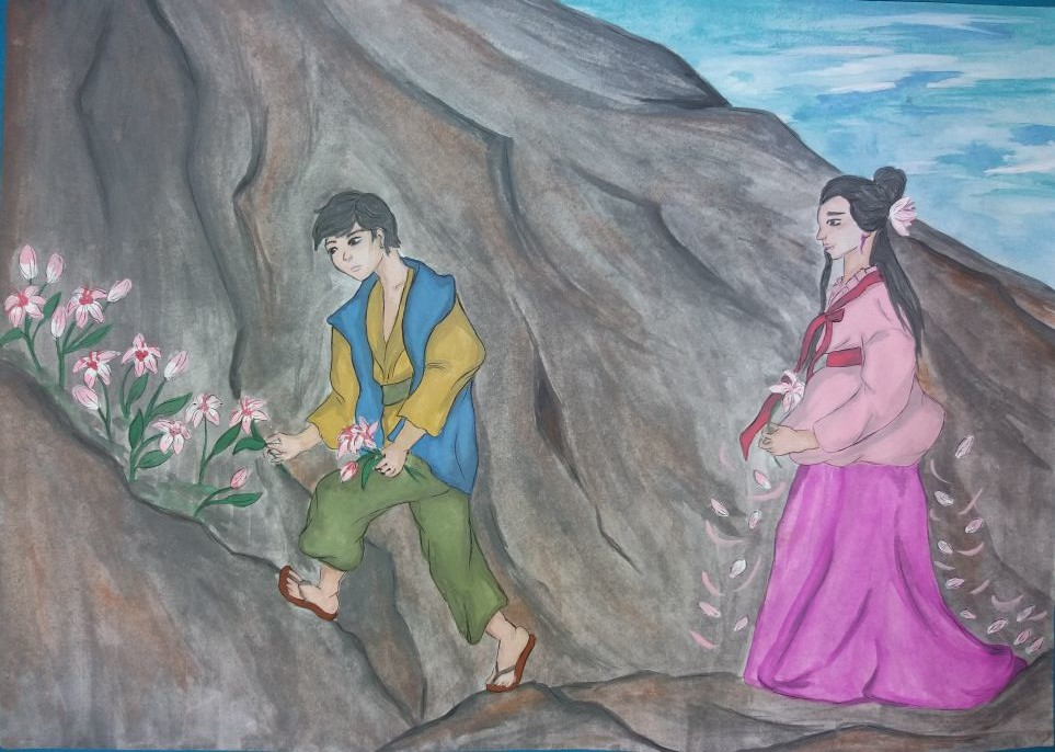 №159_Юноша и лилия
