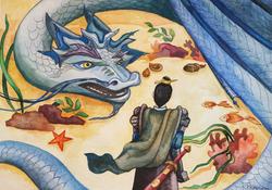 №103_Злая колдунья и царь Дракон