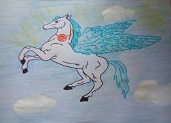 №28_Крылатый конь