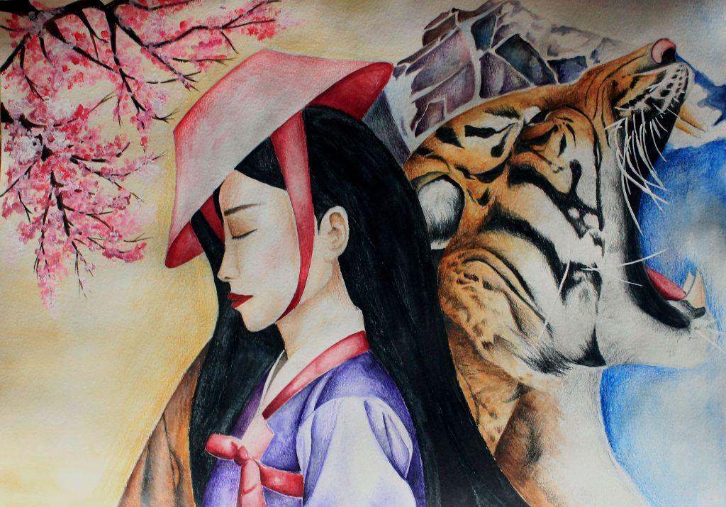 №85_Прекрасная тигрица