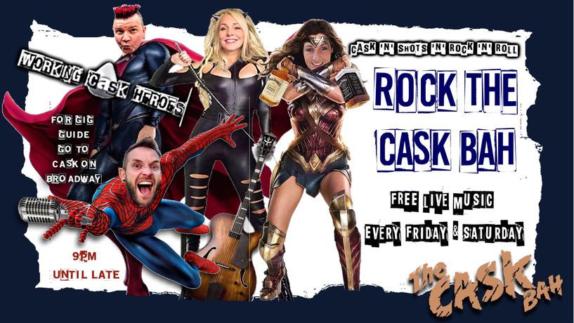 working cask super heroes weekend linds.