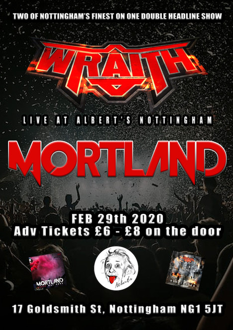 MORTLAND & WRAITH LIVE IN NOTTINGHAM 2020