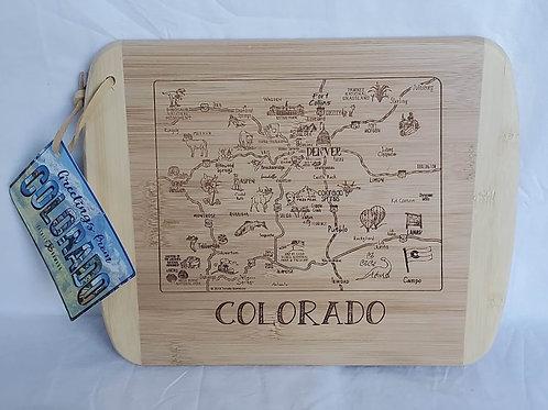 Colorado Cutting Board