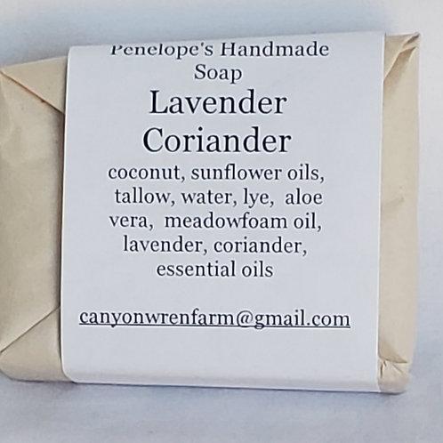 Handmade Soap (Lavender Coriander)