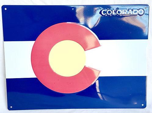 Colorado Flag (Aluminum Sign)