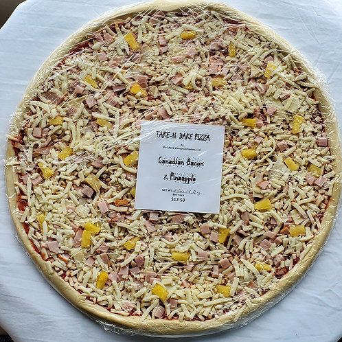 """16"""" Canadian Bacon & Pineapple Pizza"""