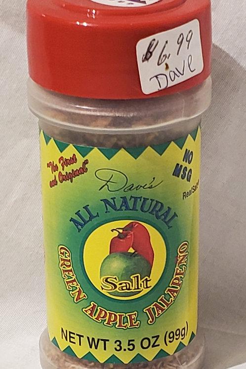All Natural Homemade Seasoning (Green Apple Jalapeno)