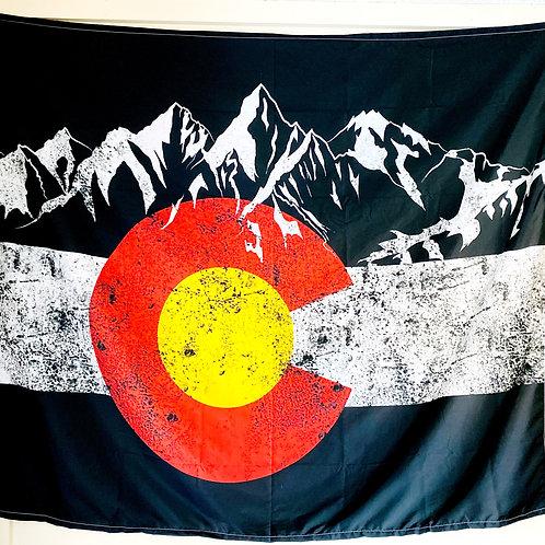 Colorado Flag Tapestry