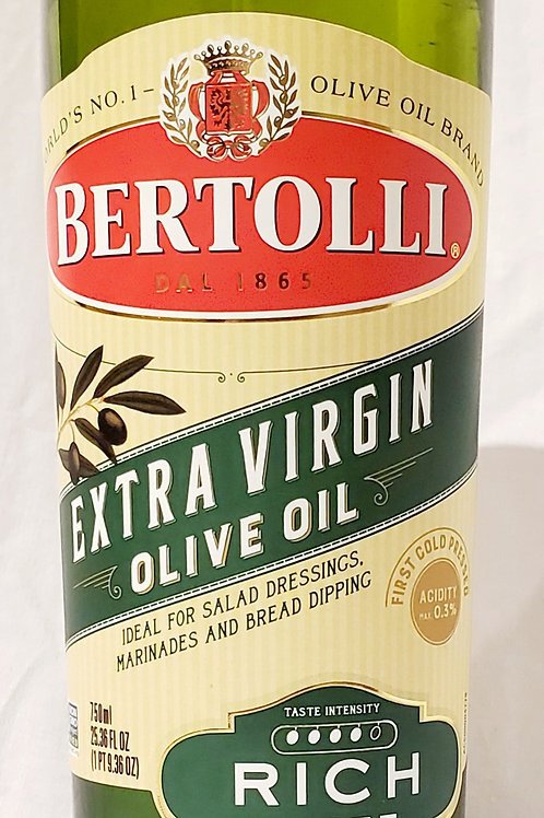 Bertolli Extra Virgin Olive Oil (25.36oz)